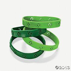 Cutout Shamrock Bracelets