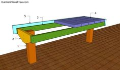 How To Build A Deck Bench | Home Design Ideas