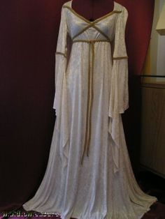 Wedding Dress from the Dark Ages