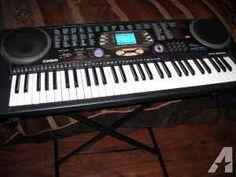 Casio CTK541 Keyboard & Stand - $50 (Spring)