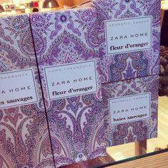 Beautiful packaging in Zara Home