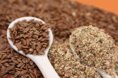 Flax seed: promotes healthy hair, skin, and nails. If you get those little red bumps on the back of your arms, eating flax will get rid of them. Put Flax seed/ Flax meal on/in EVERYTHING. Tasty and VERY high in Omega 3 Fatty Acids :) Lower Estrogen Levels, Cholesterol Levels, Dog Food Recipes, Healthy Recipes, Flax Seed Recipes, Omega 3, Kefir, Arthritis, Herbs