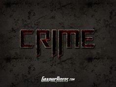 GraphicRiders | Action style – Crime (free photoshop style)