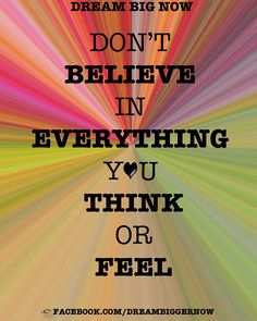 Don't overthink things..