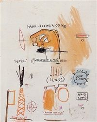 Currency by Jean-Michel Basquiat
