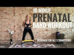 10 Minute Prenatal Band Booty & Legs Workout – First, Second, And Third Trimeste… 10 Minuten vorgeburtliches Band Booty & Legs Workout – Erstes, zweites und drittes Trimester … – Workouts – Prenatal Workout, Pregnancy Workout, 3rd Trimester, Fitness Design, Good Doctor, Menstrual Cycle, Getting Pregnant, Bands, Booty