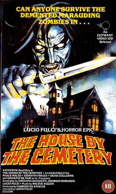 the house by the cemetery (vhs original) by retro-space, via Flickr