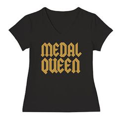 Phyllis Stein Medal Queen V Neck