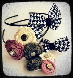 grey luster girl: On the Fourth Day of Christmas...4 Hair Accessories