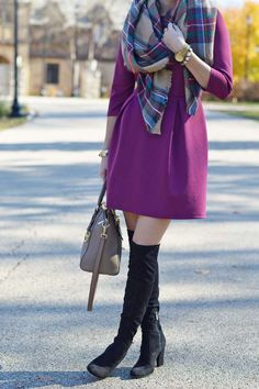 Thanksgiving Outfit Idea - Dressy   Style in a Small Town