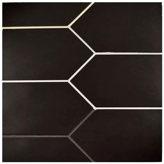 Merola Tile Kite Black 4 in. Porcelain Floor and Wall Tile sq. / case) at The Home Depot - Mobile