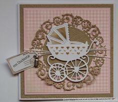 Cobie's kaarten: Babykaartje..