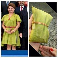 Enedina Cavalcante exterminador de corruptos.. Olha a pamonha