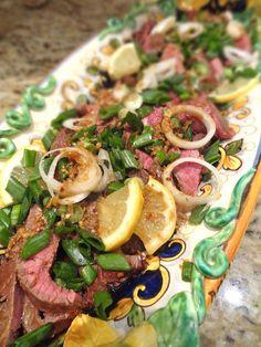 Scrumpdillyicious: Asian-Style Flank Steak