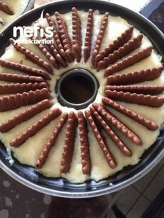 Best Cake : Semolina cake production – delicious recipes – New Avsa Restaurant Food Cakes, Cupcake Cakes, Cupcakes, Pasta Cake, Cookie Recipes, Dessert Recipes, Semolina Cake, Homemade Birthday Cakes, Food Platters