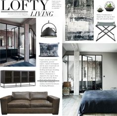 """Lofty Living"" by bellamarie on Polyvore"