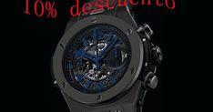 lujo Hublot Big Bang unico reloj 411.ci.1190.lr.abb14 a la venta