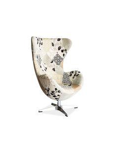 FOTOLIU DIXON A Lounge, Egg Chair, Teak, Armchair, Retro, Design, Furniture, Home Decor, Room Ideas
