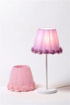Big Girl Bedrooms, Little Girl Rooms, Bed Linen Uk, Bedroom Lamps, Bedroom Decor, Purple Rooms, I Love Lamp, Princess Room, Lamp Shades