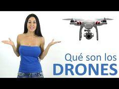 DRONES: Funcionamiento, tipos y usos (en Español) - YouTube