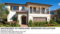 Watercrest At Parkland - Solstice Collection by Standard Pacific Homes in Parkland, Florida