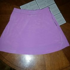 "Tobi high waisted mini skirt Sz small lilac Fabulous rayon tobi mini skirt with side zip new without tags. Measurments laying flat waist to waist 13"" seam down 15"" long. toby Skirts Mini"
