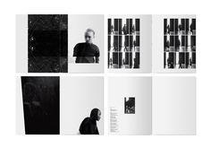 Ideas Fashion Magazine Layout Rick Owens For 2019 Lookbook Layout, Lookbook Design, Editorial Layout, Editorial Design, Editorial Fashion, Print Layout, Layout Design, Design Design, Rick Owens