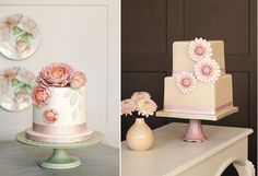 Peggy Porschen's Cakes in Bloom on Cake Geek Magazine: http://cakegeek.co.uk/index.php/peggy-porschens-cakes-in-bloom/