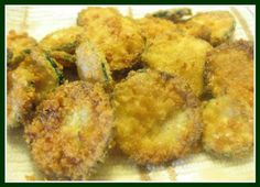 Fried Zucchini Chips {Grain Free} | The Coconut Mama made these tonight--so good!