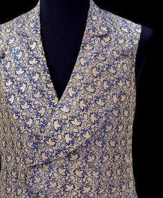 Waistcoat ca. 1845-1855 via The Victoria & Albert Museum