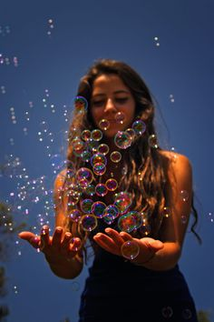 Bubble by Esin Topuz / Photo Portrait, Creative Portrait Photography, Portrait Photography Poses, Photography Poses Women, Tumblr Photography, Girl Photography Poses, Woman Portrait, Inspiring Photography, Stunning Photography