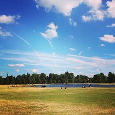 Gorgeous sky in Hyde Park taken by @tania_wan! #igerslondoninthepark