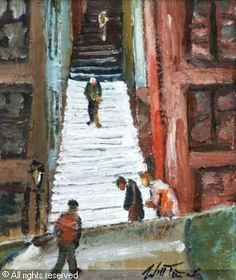 Hillgate Stockport Manchester Art, Painting, Painting Art, Paintings, Painted Canvas, Drawings