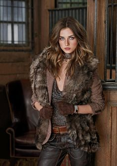 Fall with fur