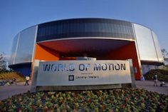 World of Motion, Epcot (Now replaced by Test Track)
