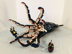 Lego Kraken, Legos, Legend Of The Seas, Lego Mechs, Lego Group, Lego Models, Custom Lego, Cool Lego, Lego Building