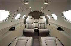 Citation Mustang _ Private jet interior _