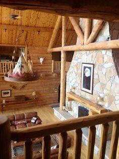 Big log cabin  details details details