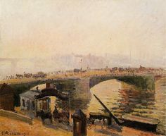 Fog, Morning, Rouen. (1896). Камиль Писсарро