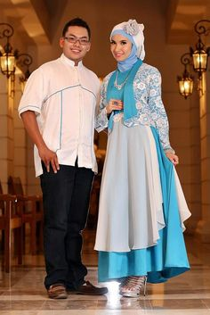 Dress-Gamis-pesta-Biru-Putih-Lux.jpg (641×960)