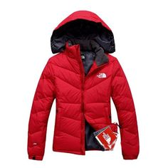 KnowInTheBox - High Quality The North Face Red Down Jacket From China