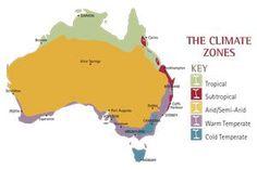 Australian Climate Zones Planting Guide