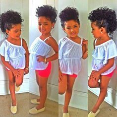 Holiday hairstyles for little black girls cutest kids pinterest black girls holidays and - Mixed girl swag ...