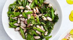 Bean Salad with Lemon and Herbs Recipe | Bon Appetit