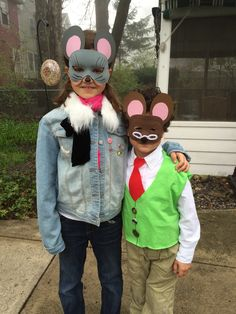 Thea Stilton costume. Geronimo Stilton costume. Dress like a book character.