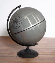 DIY Death Star Globe - DIY Man Cave - DIY Batcave