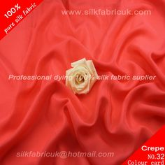 14mm silk crepe de chine fabric-watermelon red http://www.silkfabricuk.com/14mm-silk-crepe-de-chine-fabricwatermelon-red-p-409.html