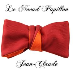 Jean-Claude - A new bow tie from Le Noeud Papillon $165