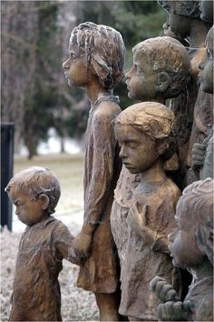 Remember Lidice ~ Kuriositas//Yet what of the children? They were first taken to a disused factory in Łódź and effectively dumped there: no medical care was offered despite their obvious lack of hygiene and suffering in the week since they had been abducted from their homes.  Officials then turned up and removed a number of the children for Germanisation.