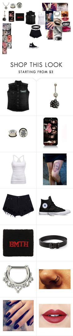 """Untitled #419"" by annafrye ❤ liked on Polyvore featuring Music Notes, American Eagle Outfitters, Converse, Dsquared2, Lottie and Fiebiger"